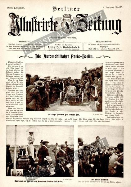 Berliner Illustrirte Zeitung, 07.07.1901 bis 13.07.1901