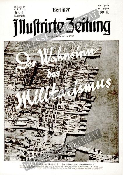 Berliner Illustrirte Zeitung, 28.01.1923 bis 03.02.1923
