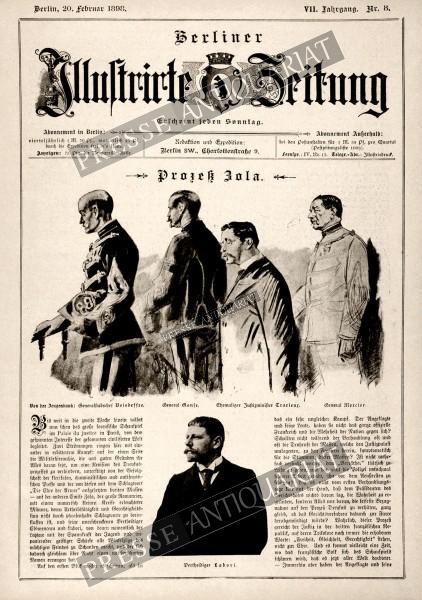 Berliner Illustrirte Zeitung, 20.02.1898 bis 26.02.1898