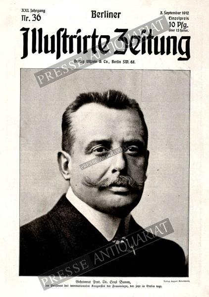 Berliner Illustrirte Zeitung, 08.09.1912 bis 14.09.1912