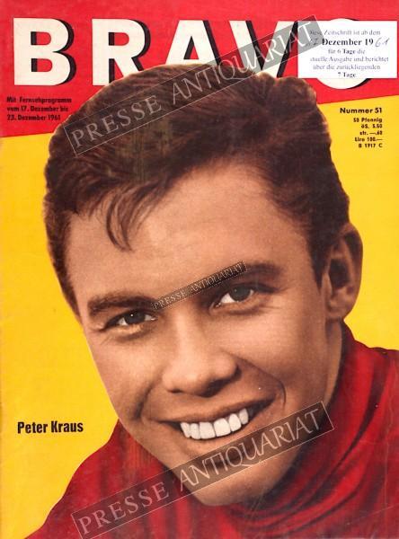 BRAVO Jugendzeitschrift, 17.12.1961 bis 23.12.1961