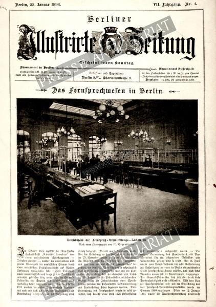 Berliner Illustrirte Zeitung, 23.01.1898 bis 29.01.1898