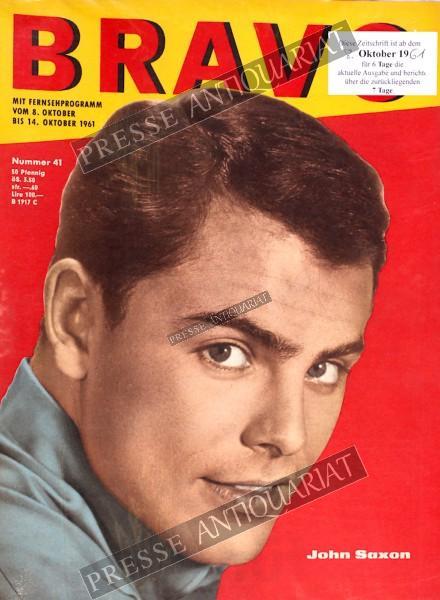 BRAVO Jugendzeitschrift, 08.10.1961 bis 14.10.1961