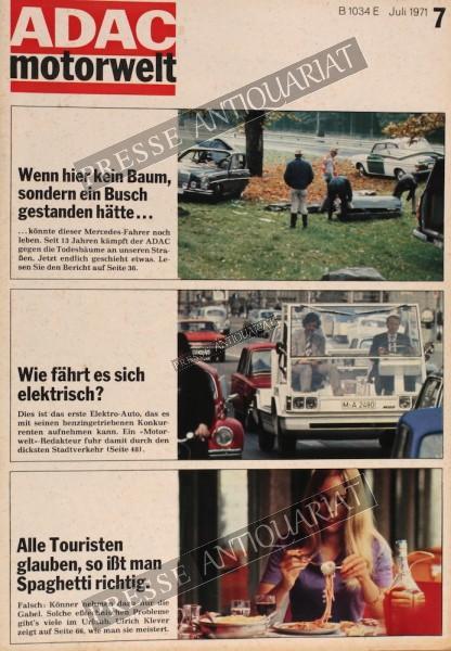 ADAC Motorwelt, 01.07.1971 bis 31.07.1971