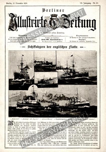 Berliner Illustrirte Zeitung, 27.11.1898 bis 03.12.1898