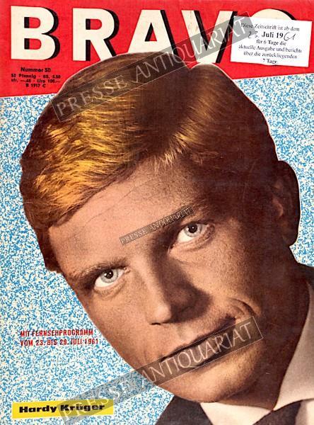 BRAVO Jugendzeitschrift, 23.07.1961 bis 29.07.1961