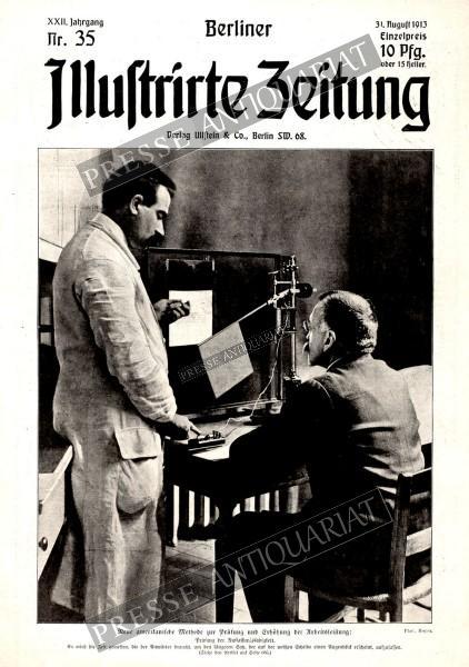 Berliner Illustrirte Zeitung, 31.08.1913 bis 06.09.1913