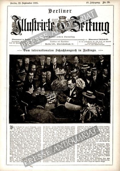 Berliner Illustrirte Zeitung, 22.09.1895 bis 28.09.1895