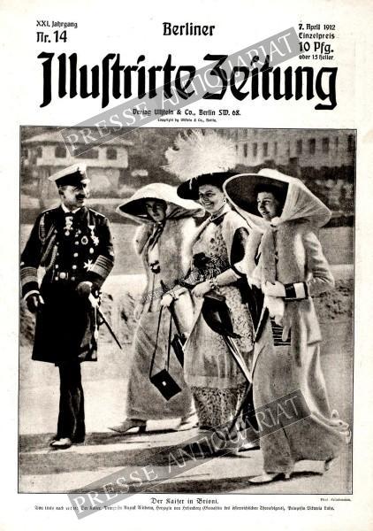 Berliner Illustrirte Zeitung, 07.04.1912 bis 13.04.1912