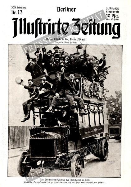 Berliner Illustrirte Zeitung, 31.03.1912 bis 06.04.1912