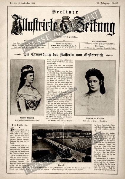 Berliner Illustrirte Zeitung, 18.09.1898 bis 24.09.1898