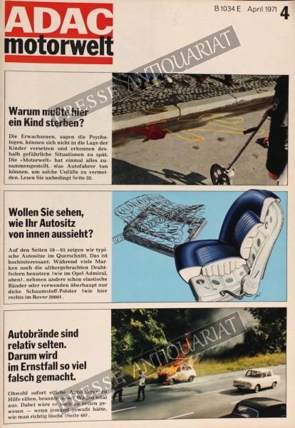 ADAC Motorwelt, 01.04.1971 bis 30.04.1971