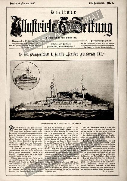 Berliner Illustrirte Zeitung, 06.02.1898 bis 12.02.1898