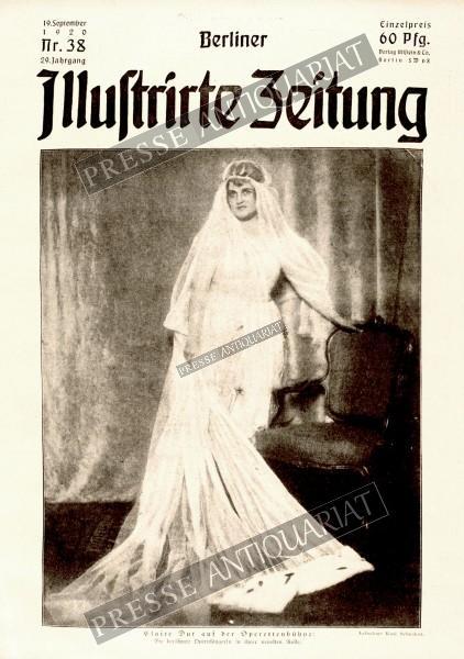 Berliner Illustrirte Zeitung, 19.09.1920 bis 25.09.1920