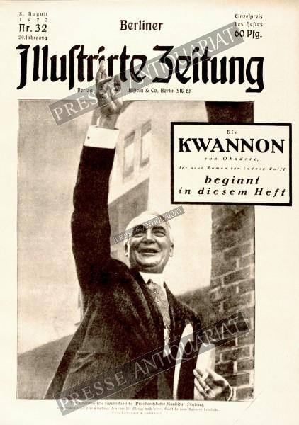 Berliner Illustrirte Zeitung, 08.08.1920 bis 14.08.1920