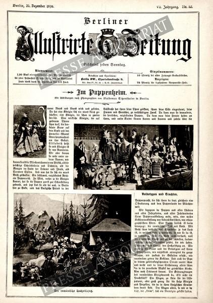 Berliner Illustrirte Zeitung, 25.12.1898 bis 31.12.1898