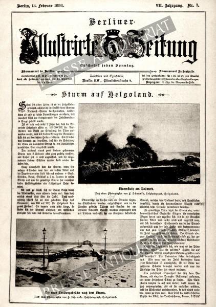 Berliner Illustrirte Zeitung, 13.02.1898 bis 19.02.1898