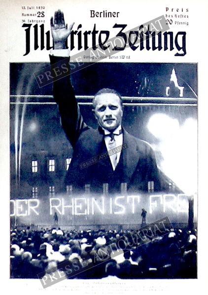 Berliner Illustrirte Zeitung, 13.07.1930 bis 19.07.1930