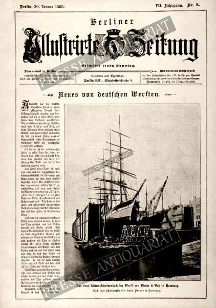 Berliner Illustrirte Zeitung, 30.01.1898 bis 05.02.1898