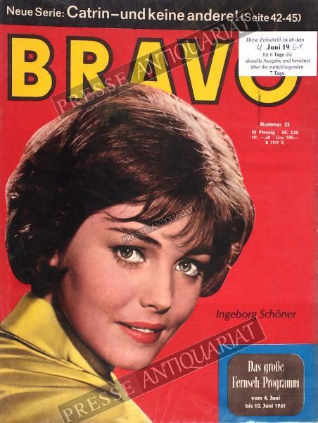BRAVO Jugendzeitschrift, 04.06.1961 bis 10.06.1961