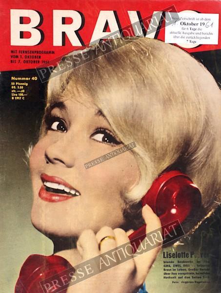 BRAVO Jugendzeitschrift, 01.10.1961 bis 07.10.1961