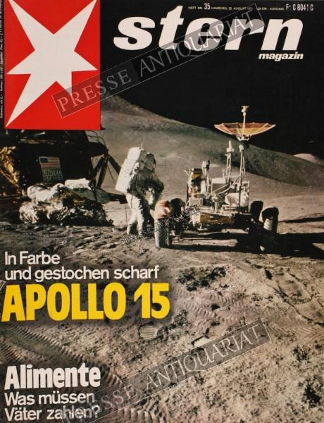 Stern Magazin, 22.08.1971 bis 28.08.1971