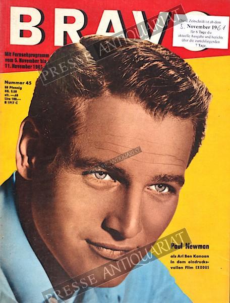 BRAVO Jugendzeitschrift, 05.11.1961 bis 11.11.1961