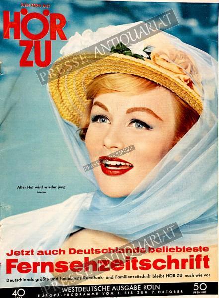 Hör zu Fernsehzeitschrift, 26.02.1961 bis 04.03.1961