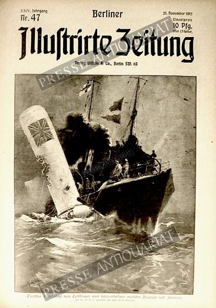 Berliner Illustrirte Zeitung, 21.11.1915 bis 27.11.1915