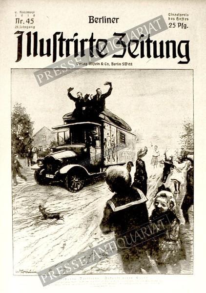Berliner Illustrirte Zeitung, 09.11.1919 bis 15.11.1919