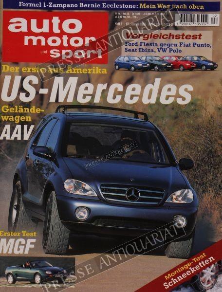 Auto Motor Sport, 12.01.1996 bis 25.01.1996