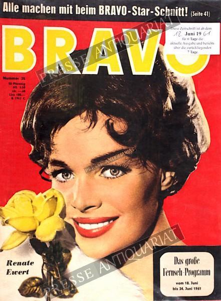 BRAVO Jugendzeitschrift, 18.06.1961 bis 24.06.1961