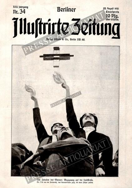 Berliner Illustrirte Zeitung, 25.08.1912 bis 31.08.1912