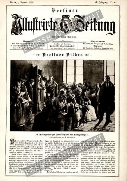 Berliner Illustrirte Zeitung, 11.12.1898 bis 17.12.1898