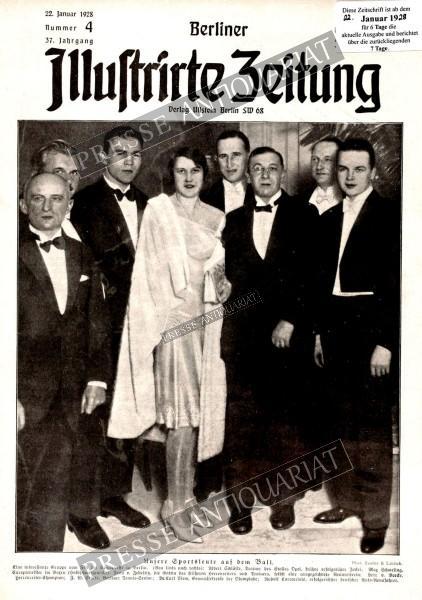 Berliner Illustrirte Zeitung, 22.01.1928 bis 28.01.1928