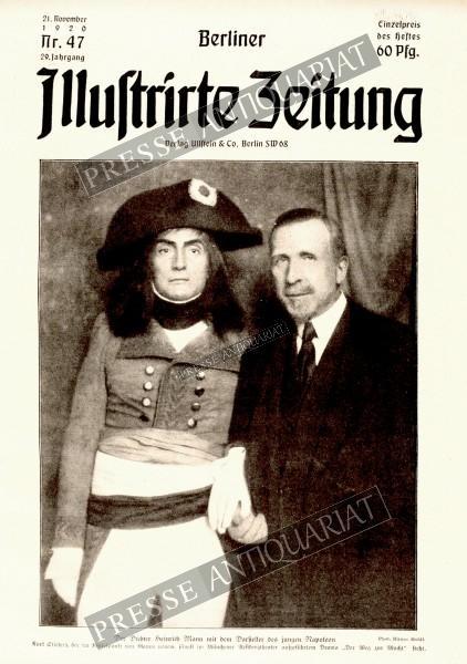 Berliner Illustrirte Zeitung, 21.11.1920 bis 27.11.1920