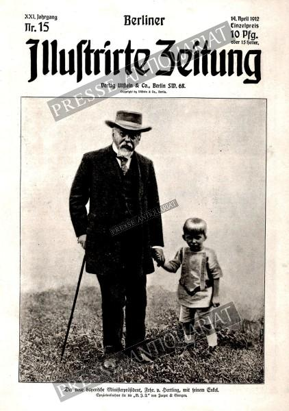 Berliner Illustrirte Zeitung, 14.04.1912 bis 20.04.1912