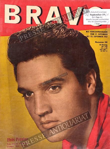 BRAVO Jugendzeitschrift, 17.09.1961 bis 23.09.1961