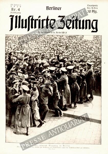Berliner Illustrirte Zeitung, 25.01.1920 bis 31.01.1920