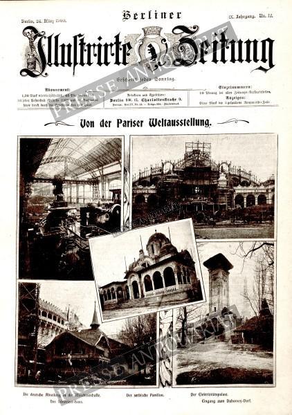 Berliner Illustrirte Zeitung, 24.03.1900 bis 30.03.1900