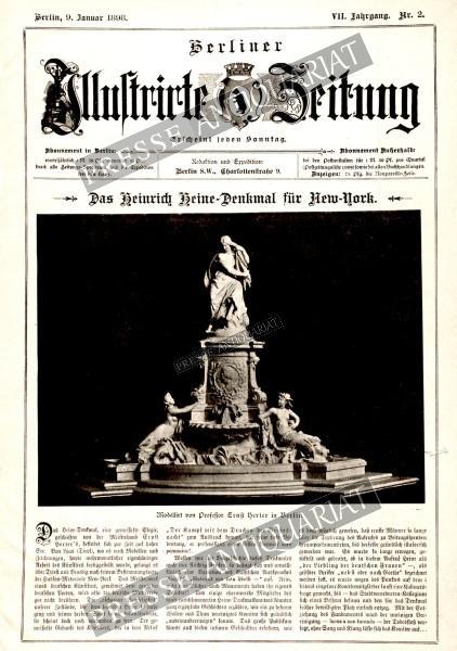 Berliner Illustrirte Zeitung, 09.01.1898 bis 15.01.1898