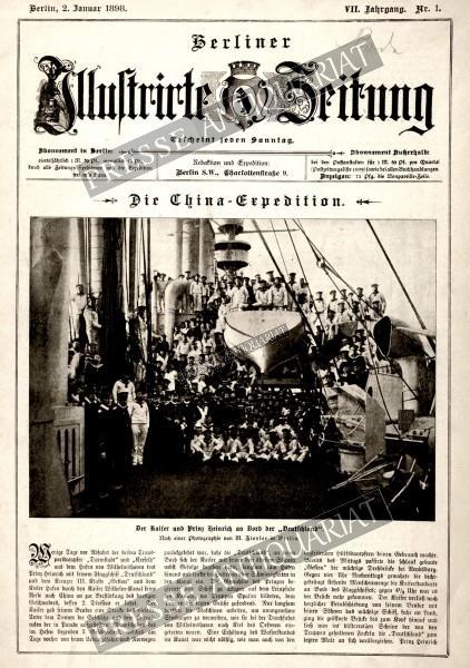 Berliner Illustrirte Zeitung, 02.01.1898 bis 08.01.1898