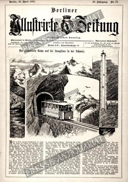 Berliner Illustrirte Zeitung, 28.04.1895 bis 04.05.1895