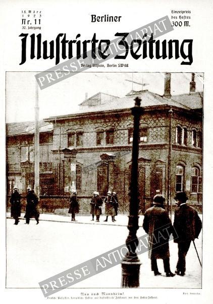 Berliner Illustrirte Zeitung, 18.03.1923 bis 24.03.1923