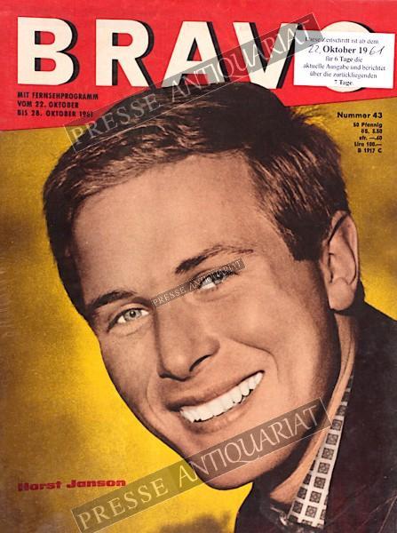 BRAVO Jugendzeitschrift, 22.10.1961 bis 28.10.1961