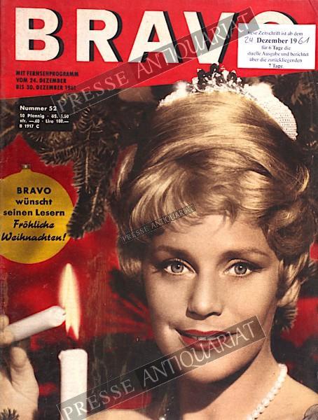 BRAVO Jugendzeitschrift, 24.12.1961 bis 30.12.1961