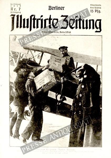Berliner Illustrirte Zeitung, 16.02.1919 bis 22.02.1919