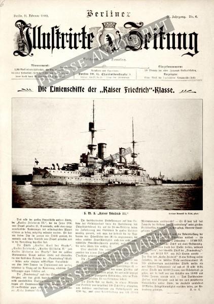 Berliner Illustrirte Zeitung, 11.02.1900 bis 17.02.1900