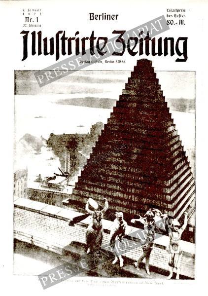 Berliner Illustrirte Zeitung, 07.01.1923 bis 13.01.1923
