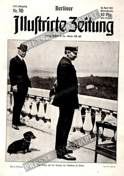 Berliner Illustrirte Zeitung, 21.04.1912 bis 27.04.1912